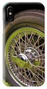 1959 Jaguar X K 150s Wire Wheel IPhone Case
