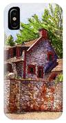#196 Bourn Cottage IPhone Case