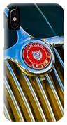 1960 Jaguar Xk150 Roadster 3 IPhone Case