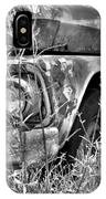 1961 Chevrolet Apache 10 Black And White 4 IPhone Case