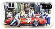 1961 Le Mans 1961 Ferrari 250 Tri Olivier Gendebien Phil Hill Winner  IPhone X Case