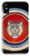1963 Jaguar Xke Roadster Emblem IPhone Case