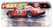 1964 Lemans 24 Ferrari 275p Ludovico Scarfiotti  IPhone X Case