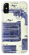 1964 Smith And Wesson Gun Patent Two Tone IPhone Case