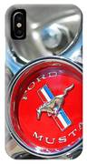 1965 Classic Ford Mustang Rim Color IPhone Case
