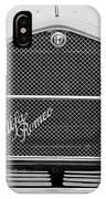 1966 Alfa Romeo Quattro Route 4r -0134bw IPhone Case