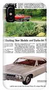 1966 Chevrolet Chevelle Turbo-jet V8's IPhone Case