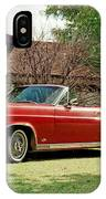 1966 Ford Fairlane 500 Convertible IPhone Case