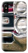 1966 Pontiac Gto Grill IPhone Case