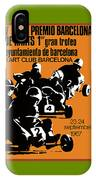 1967 Barcelona Kart Racing Poster IPhone Case