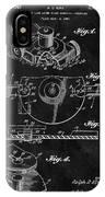 1967 Lawn Mower Patent Illustration IPhone Case
