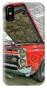 1967 Pontiac Gto American Muscle Car IPhone Case