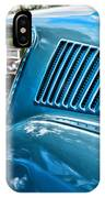 1968 Ford Mustang Fastback In Blue IPhone Case