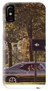 1968 Pontiac Gto - Woodward - The Great One By Pontiac IPhone Case