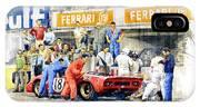 1969 Le Mans 24 Ferrari 312p Pedro Rodriguez  David Piper IPhone X Case