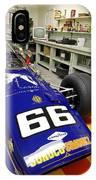 1969 Penske Indy Car In Garage IPhone Case