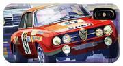 1970 Alfa Romeo Giulia Gt IPhone X Case