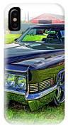 1970 Cadillac Deville - Vignette IPhone Case