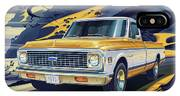 1971 Chevrolet C10 Cheyenne Fleetside 2wd Pickup IPhone X Case