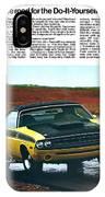 1971 Dodge Challenger T/a IPhone Case