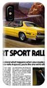 1974 Dodge Dart Sport Rallye IPhone Case