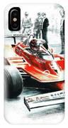 1980  Ferrari 312t5 IPhone Case