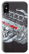 1996 Ferrari F1 V10 Engine IPhone Case
