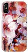 1almonds Blossom  13 IPhone Case