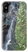 1b6353 Falls On Sonoma Mountain IPhone Case