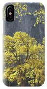 1m6610 Middle Cathedral Rock In Autumn IPhone Case