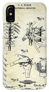 1911 Anatomical Skeleton Patent IPhone Case