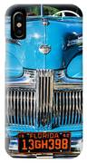 1942 Ford Super Deluxe Sedan Painted  IPhone Case