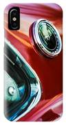 1969 Ford Mustang Mach 1 Emblem IPhone Case