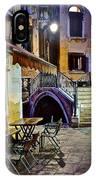 An Evening In Venice IPhone Case