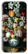 A Still Life Of Flowers IPhone Case