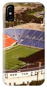 Aerial View Of A Stadium, Soldier IPhone Case