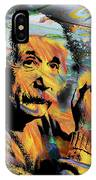 Albert Einstein.. - By Prar IPhone Case