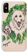 American Eskimo Dog IPhone Case