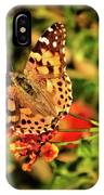 American Painted Lady IPhone Case