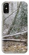 Autumn Snow Williams River  IPhone Case