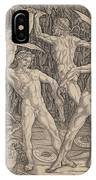 Battle Of The Nudes IPhone Case