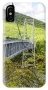 Bear Mountain Bridge IPhone Case