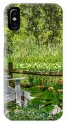Beside The Pond IPhone Case