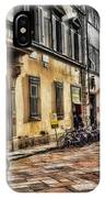 Bicycles In Florence IPhone Case