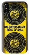 Birthplace Of Rock N Roll IPhone Case