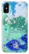 2 Blue Fish IPhone Case
