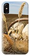 Bread And Wheat Cereal Crops. IPhone X Case