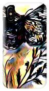 Butterfly Sketch IPhone Case