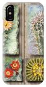 Cactus Collage IPhone Case
