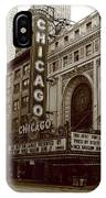 Chicago Theater IPhone Case